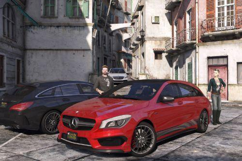 De50ce 2016 mercedes amg cla 45 shooting brake by gta5korn